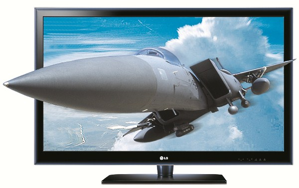 LG LX6500 вторая модель 3D-телевизора от LG