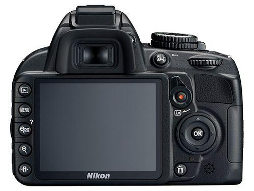 Nikon D3100 дисплей