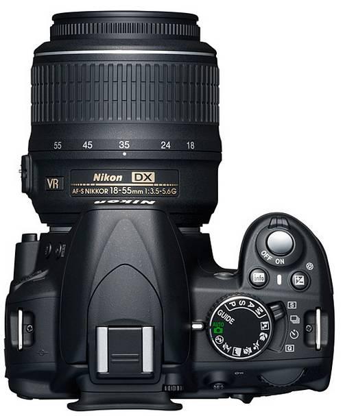 Nikon D3100 управление