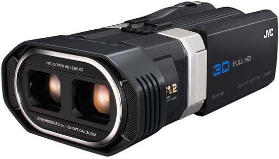 3D-видеокамера JVC Everio GS-TD1