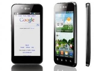 Android-смартфон LG OPTIMUS BLACK