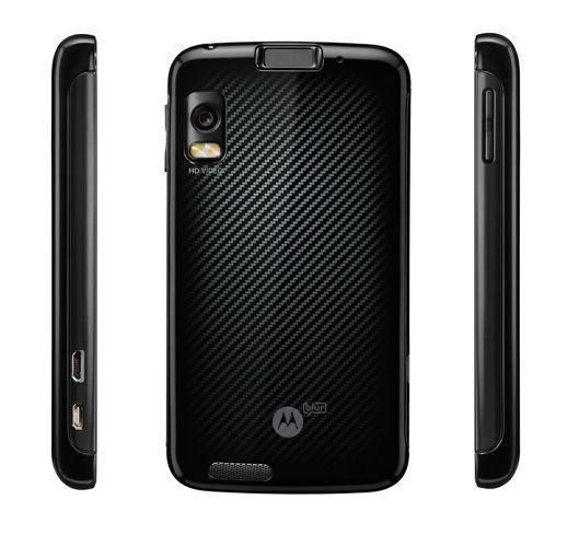 Смартфон Motorola ATRIX на Android 2.2