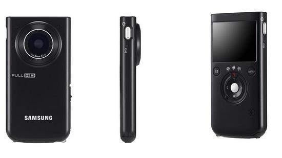 Карманный Full HD камкодер Samsung HMX-P100