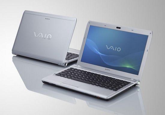 Компьютерные новинки Sony на CES 2011 - ноутбуки
