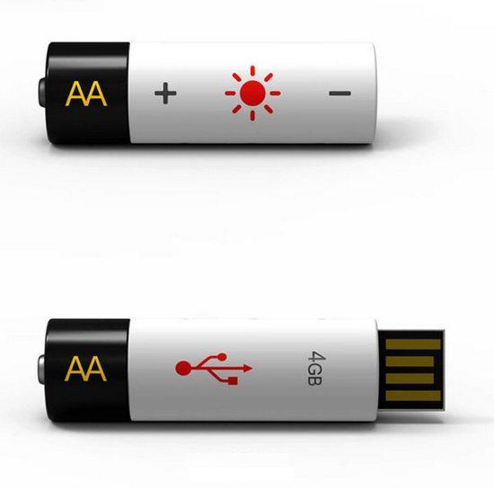 Флешка-аккумулятор, концептуальная идея