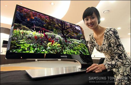 Новые серии 3D мониторов Samsung SA950 и SA750