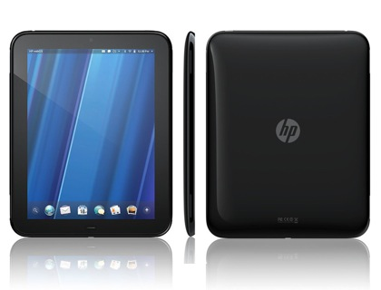 HP TouchPad первый планшетный пк от HP