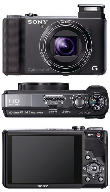 Sony DSC-HX100V и DSC-HX9 - компактные ультразумы