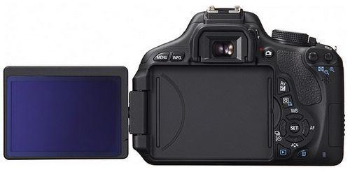 Canon EOS 600D back