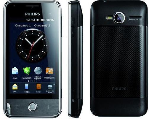 Коммуникатор Philips Xenium V816