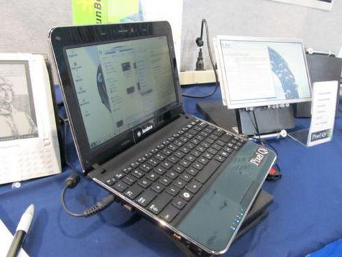Нетбук SunBook с дисплеем Pixel Qi