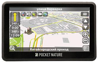 Навигатор Pocket Nature GS-500
