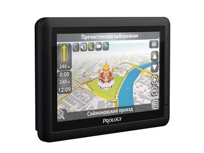 Prology iMap-552A - портативный навигатор с GPRS