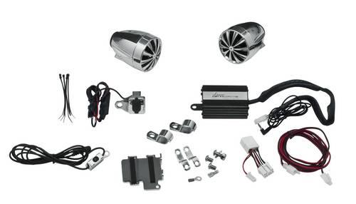 Акустическая система для мотоциклов и квадроциклов Lanzar OPTIMC90