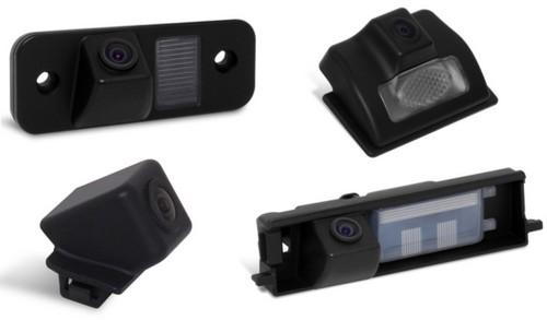 Парковочные  камеры в плафон подсветки номерного знака