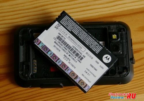 Обзор Motorola Defy (MB525)