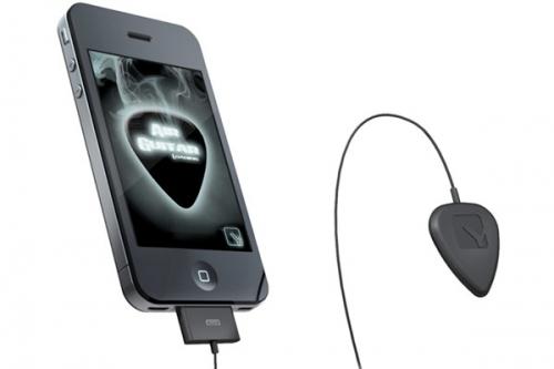 Air Guitar Move + iPhone 4 = электрогитара