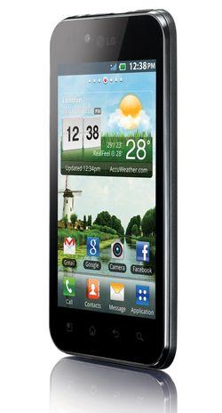 Cмартфон LG Optimus Black (P970)