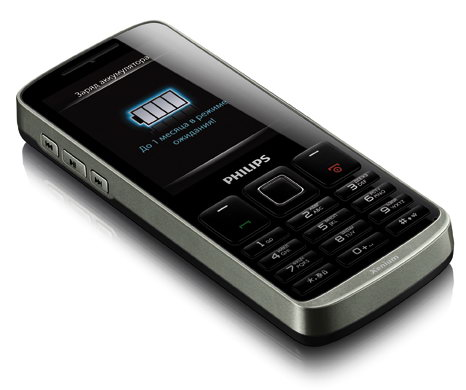 Philips Xenium X325 с двумя Sim-картами