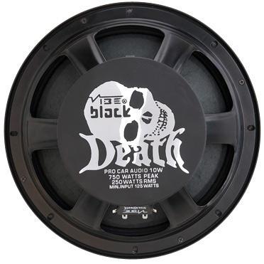 Акустические системы Black Death от Vibe