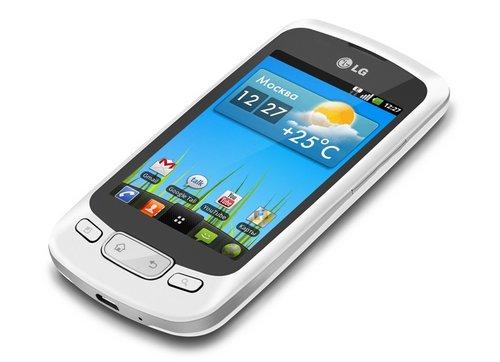 LG обновила операционную систему на LG Optimus One P500