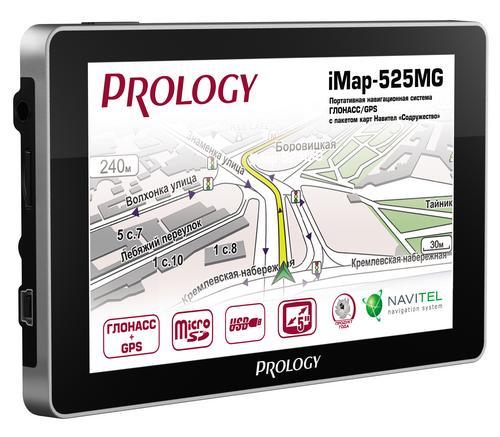 GPS/ГЛОНАСС навигатор Prology iMap-525MG