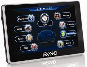 Lexand обновляет линейку спутниковых GPS-навигаторов