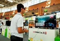 Игровой фестиваль LG Cinema 3D «Сразимся в 3D»