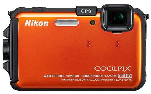 Nikon AW100 снимаем под водой