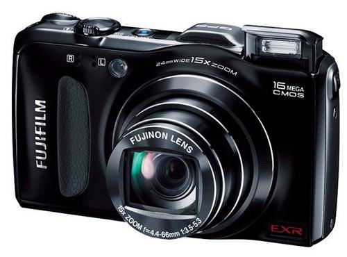 Фотокамера Fujifilm FinePix F600EXR с GPS навигатором