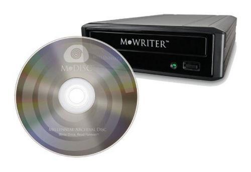 Компакт-диски из камня - запись на века