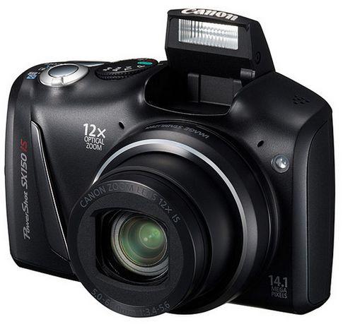 Суперзум Canon PowerShot SX150 IS