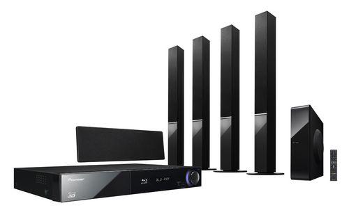Blu-ray системы домашнего кинотеатра - Pioneer BCS-717 и BCS-414