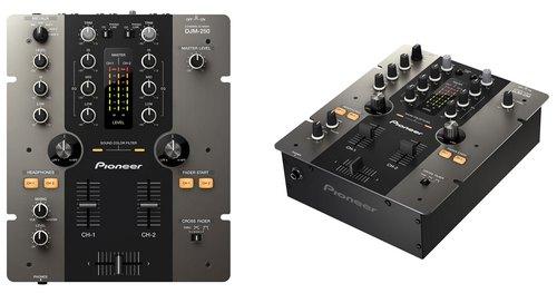 Pioneer DJM-250 - микшер с двумя звуковыми фильтрами