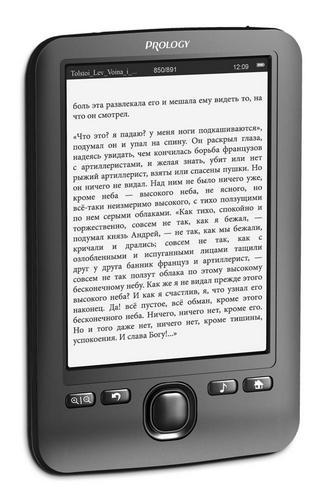 Электронные книги Prology Latitude I-501 и Latitude I-601