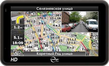 GPS-навигатор Treelogic 5012BGF AV HD DVR 2Gb