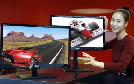 3D-монитор без очков LG DX2500