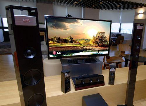 Домашние кинотеатры LG с трехмерным звучанием