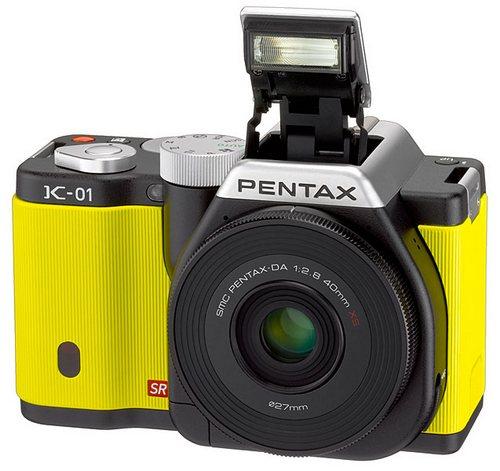 Pentax K-01 с поддержкой байонета К