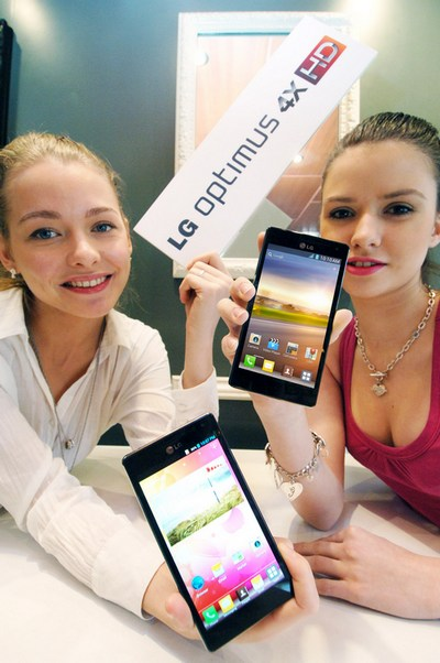 LG Optimus 4X HD - смартфон с четырехъядерным процессором