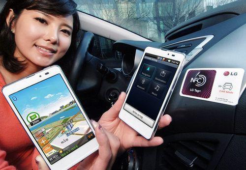 LTE смартфон LG Optimus LTE Tag
