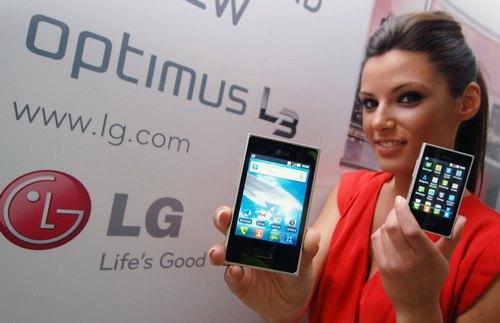 LG Optimus L3 в продаже в марте