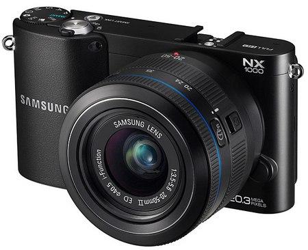 Samsung NX20, NX210, NX1000 – трио новинок от Samsung