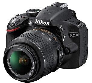 Nikon D3200 начальный уровень