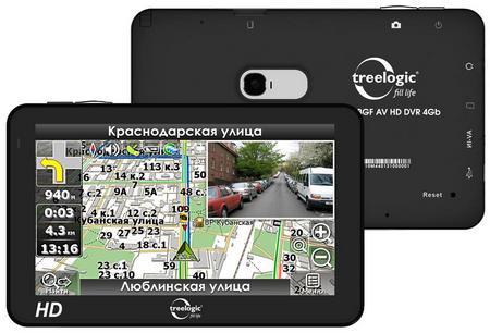 Обновленная линейка GPS-навигаторов Treelogic