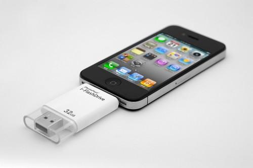 I-Flash - простой обмен данными устройств Apple к ПК