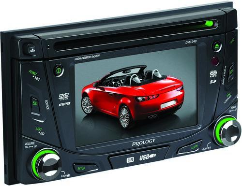 Автомобильный мультимедийный центр Prology DVS-240