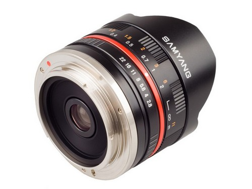 "Samyang 8 мм 1:2.8 UMC ""рыбий глаз"" для Sony NEX и Samsung NX"