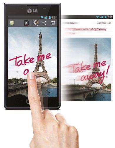 Функция QuickMemo™ в смартфонах LG