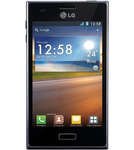 Смартфон на Android - LG Optimus L5 (E612)